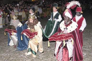 Cabalgata de Reyes en Santillana del Mar_246